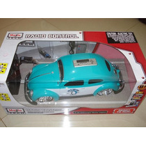Carro Controle Remoto Com Som Volkswagen-fusca Maisto 1:10