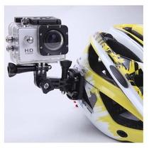 Câmera Capacete Moto Full Hd Hdmi Mergulho Dvr Carro Bike Oi
