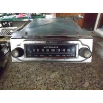 Radio Antigo Valvulado Motoradio Raridade E Original