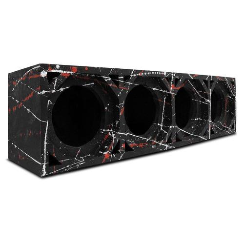 Caixa De Som Para 4 Medio De 6 Pol Frontal De 150w A 400w Rm