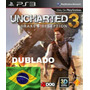 Uncharted 3 - Ps3 - Psn Br - Dublado - Mídia Digital 40 Gb