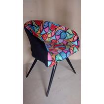 Cadeira Poltrona Para Escritório E Sala,decorativa Em Suede