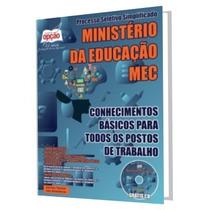 Apostila Concurso Ministério Da Educação Mec Todos Os Cargos