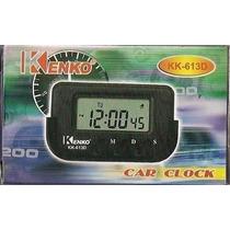 Relógio P/carros,cronometro,data Despertador Atacado 100 Pçs