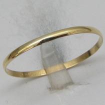 0859 Aliança De Casamento Fina Em Ouro 18k 750 W