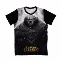 Camiseta Anime - Camisa League Of Legends - Rengar