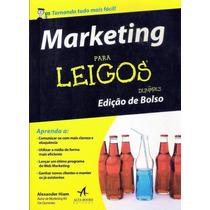 Marketing Para Leigos Edição De Bolso Alexander Hiam