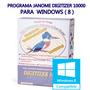 Janome Digitizer 10.000( Windows 8 )-com Video Para Instalar