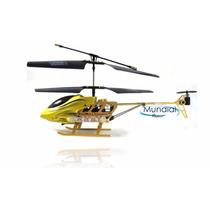 Helicóptero Com Controle Remoto - Gold Treasure Edition!