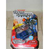 Transformers Prime Robots In Disguise Autobot Hot Shot