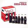 Coca-cola Kit Retro Com 6 Garrafas ( Cheias )