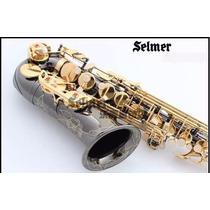 Sax Alto Eb Selmer R54 Luxo Black Nikel