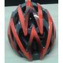 Capacete Kripta Falcon Laranja/carbono Bike Vip
