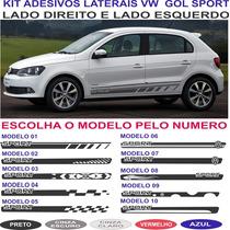 Acessorios Faixa Adesivo Sport Vw Gol G5 G6 G7 Adesivos