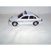 Brinquedo Carro Carrinho Branco Policia