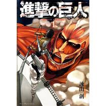 Manga Ataque Dos Titãs (shingeki No Kyiojin) Vol 1