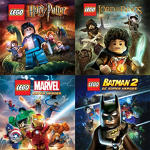 Ps3 Lego Batman 2 + Marvel + Senhor Dos Aneis + Harry Potter