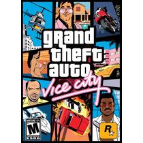 Jogo Gta Vice City Para Computador Pc - Envio Na Hora!