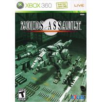 Jogo Xbox 360 Zoids Assault Original E Lacrado Midia Fisica