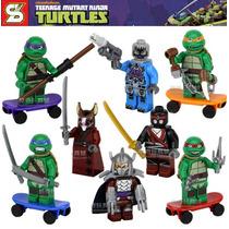 Lego Personagens As Tartaguras Ninja 8 Peças