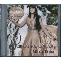 Cd Duplo Mara Lima - Som Da Voz De Deus [cd+playback]