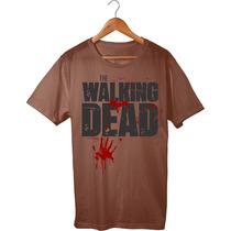Camisa/camiseta Da Série The Walking Dead - Super Oferta