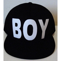 Boné Boy London Trucker Cap Aba Reta Tela