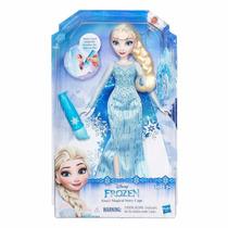 Boneca Elsa Vestido Mágico Princesas Frozen Disney - Hasbro