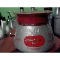 Mutari Color Mask Red Máscara Tonalizante Vermelha