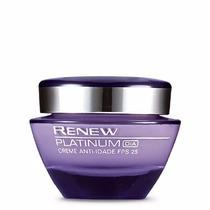 Avon Renew Platinum Creme Facial Dia 60+ Anos + Brinde