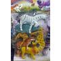 Brinquedo Animais Da Selva Safari Emborrachados