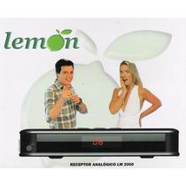 Receptor Analógico Lm-2000 - Lemon Queima De Estoque