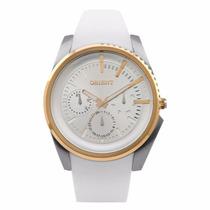 Relógio Orient Mtspm004 S1bx Pulseira Silicone Wr 100m Nfe