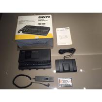 Gravador Sanyo Trc-8800 Memoscriber - Completo, Na Caixa!!!