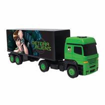Caminhão Baú Ben 10 Brinquedo Menino Multibrink