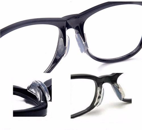 cc7667257684d Plaqueta Suporte Almofadas Em Silicone P  Óculos De Acetato R 14.9 ...