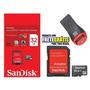 Cartão Memória Micro Sd Sdhc 32gb Sandisk Frete Grátis Leito