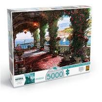 Puzzle 5000 Peças Tarde Na Varanda
