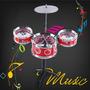 Mini Bateria Musical De Brinquedo - Pronta Entrega