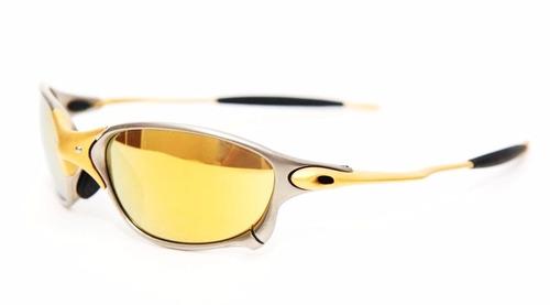 c7db32a89d298 Oculos Oakley Double Xx 24k Gold Iridium Original + Brinde R 2400 ...