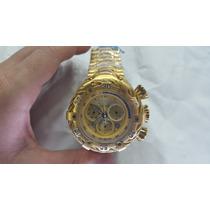 Relógio Invicta 21359 Thunderbolt Dourado (12x Sem Juros)
