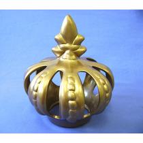 Coroa Em Ceramica - Rei Rainha