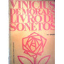 Vinicius De Moraes Livro De Sonetos 14ª Editor Jose Olympio