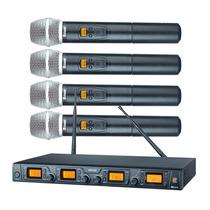 Sistema Sem Fio Quadruplo Cabeça Staner Srw 48 Q