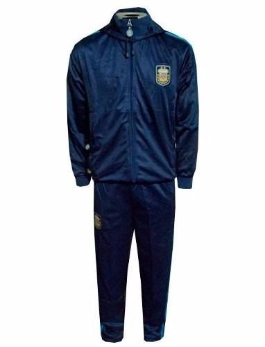 96655d84ce Agasalho Da Seleção Da Argentina Conjunto Azul Hermanos Novo