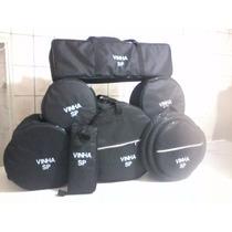 Bag Capa Para Bateria 8 Peças Personalizada Com Seu Nome