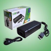 Fonte Xbox 360 Slim Bivolt 110v 220v 135w Ac + Cabo De Força
