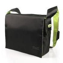 Maleta Para Notebook Messenger 11,6 Pol Preta / Verde