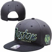 Boné Aba Reta Snapback Importado Nba Original Boston Celtics