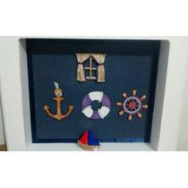Quadro Porta Maternidade Marinheiro
